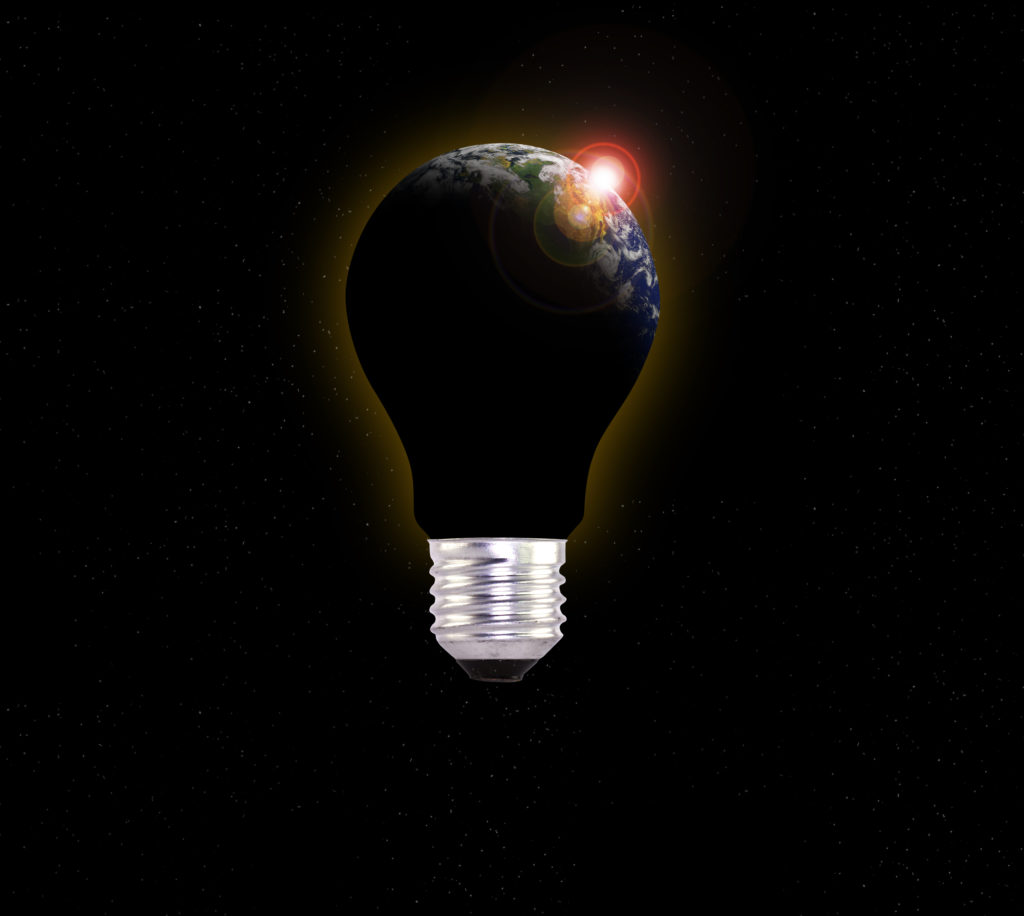 Light bulb of the Earth